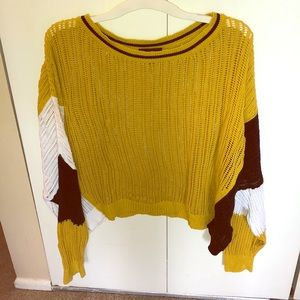 NEW Express Trio colored Knit Top!